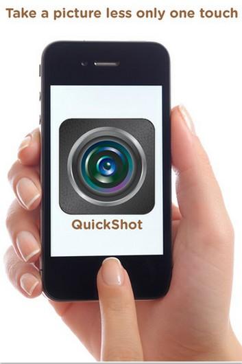 """抓拍利器:""""一键式""""拍照应用QuickShot"""