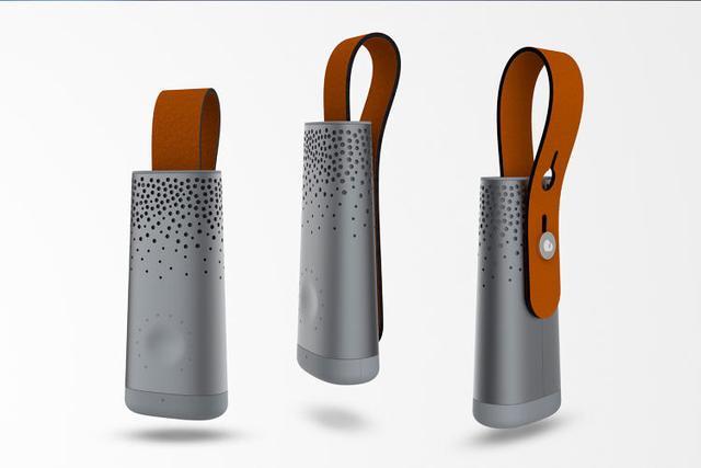 这款可穿戴设备能够追踪用户呼吸的空气质量状况