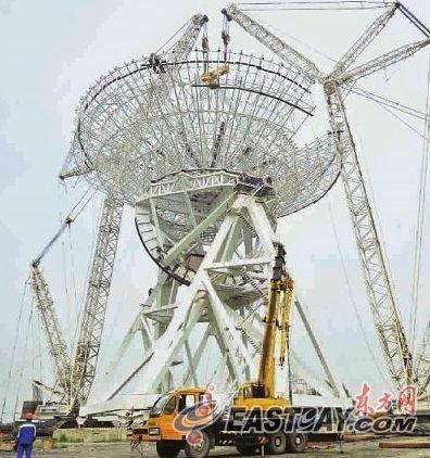 上海建亚洲最大射电望远镜 将参与探月工程