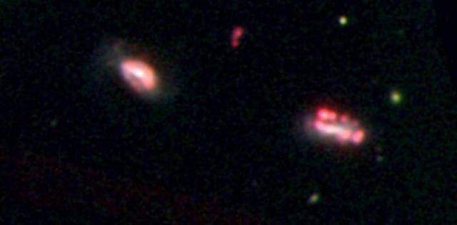 科学家发现隐藏在微型星系中的矮星系