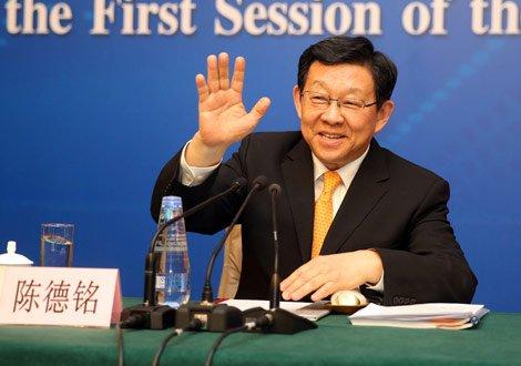 商务部长陈德铭:我经常网购 也老受家里批评