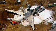 韩国客机在美国坠毁 2人遇难