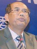 柬埔寨内政部国务秘书倪常法发言