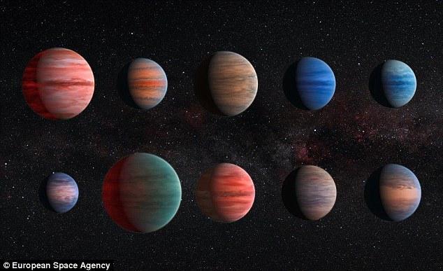 """科学家发现""""炽热木星""""大气层隐藏着水分子"""