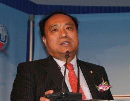 图文:国际电信联盟副秘书长赵厚麟