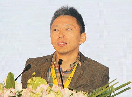 图文:搜狐CEO张朝阳发表主题演讲
