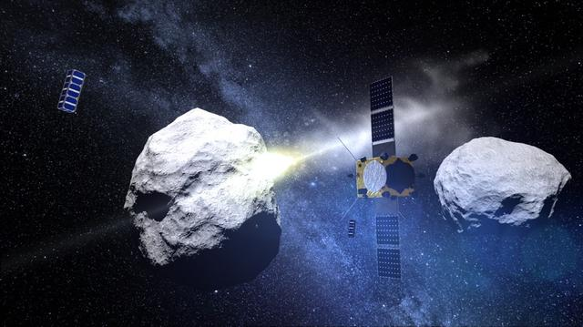 欧空局五年后执行小行星撞击任务的十大亮点