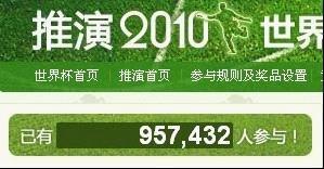 腾讯世界杯线上产品大受欢迎 参与人数近千万