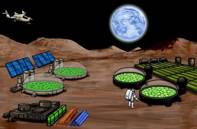 合成生物技术将为人类在火星获取食物和燃料