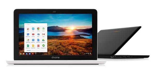 Chromebook 11电脑(腾讯科技配图)