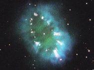 """哈勃观测绚丽项链星云,镶嵌""""钻石""""散发光芒"""
