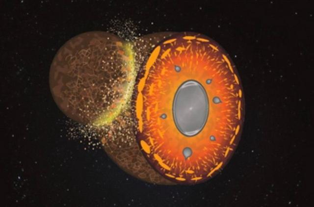 研究表明远古时期陨石碰撞导致地球成分变化