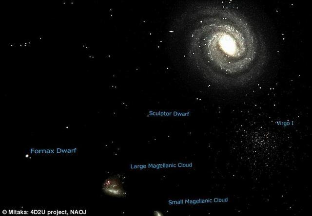 """研究称银河系边缘存在最昏暗的""""幽灵星系"""""""