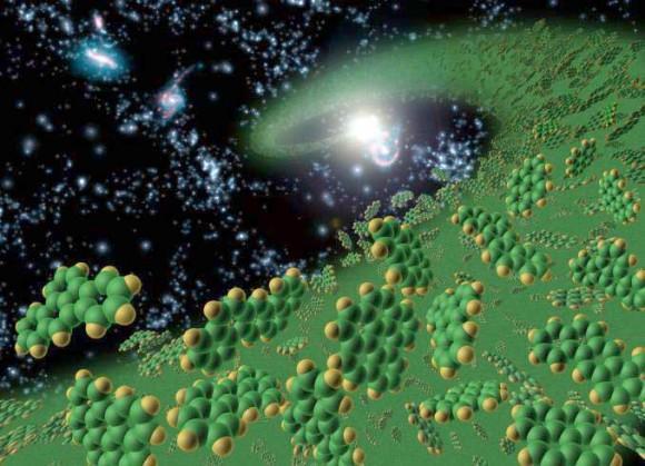 神奇!地球包含宇宙中所有的元素种类