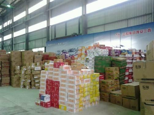 联手腾讯大成网 国美向雅安运送第二批救灾物资