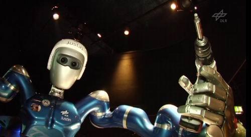 """欧洲""""贾斯汀""""机器人 未来抵达太空操作实验"""
