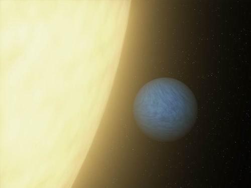 美国宇航局观测到系外行星的第一缕光芒