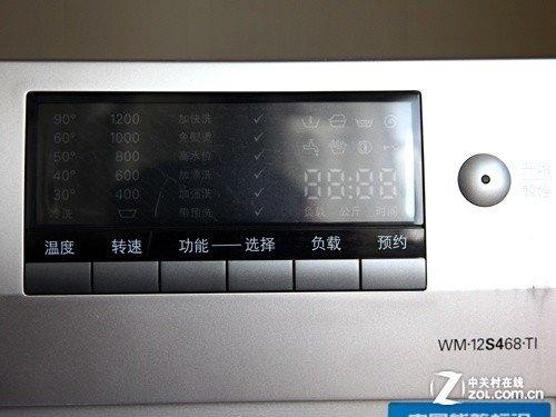 8kg大容量 西门子滚筒京东售价5819元