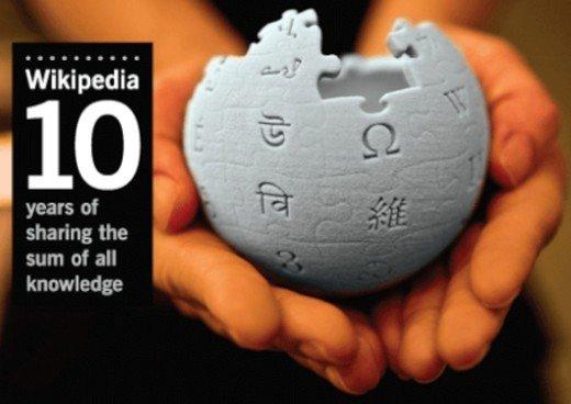 维基百科十年带来的信息运作方式变革