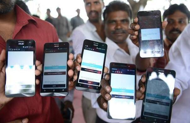 Uber要在印度击败Ola 关键看它能否招募更多司机