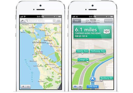 谷歌地图iOS应用获批凸显苹果战略存有软肋