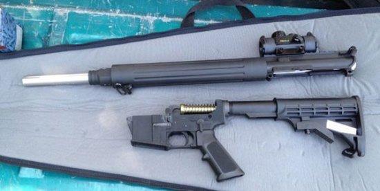 美国工程师用3D打印机打印步枪