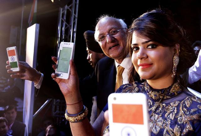 印度人民又开挂 4美元智能手机你相信吗?