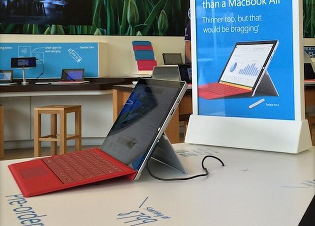 微软Surface Pro3销量超以往 证实Mini平板夭折