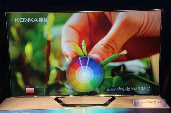 康佳发布10核4K电视 高清片源缺乏问题得到解决