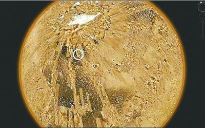"""天文爱好者用谷歌软件发现火星""""神秘建筑"""""""