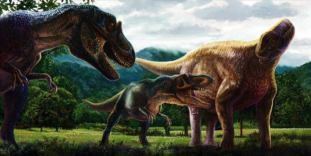 曾经的霸主恐龙生长速度接近于热血哺乳动物