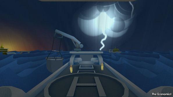 VR带你探索海底 其实是想告诉你过度捕鱼的危害