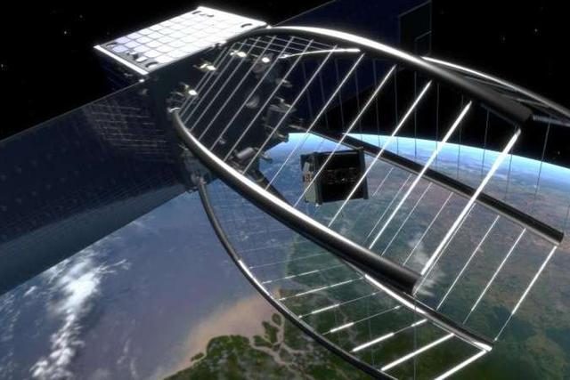 """瑞士研发能销毁太空垃圾的""""吃豆人""""卫星"""