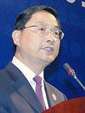 商务部副部长蒋耀平发言