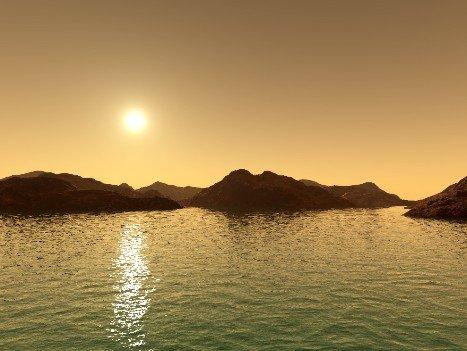 """火星发现神秘""""地下水库"""" 远古存在河流湖泊"""