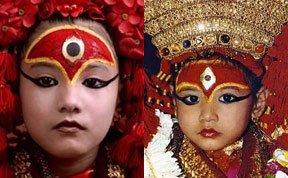 尼泊尔活女神:被禁锢的女孩