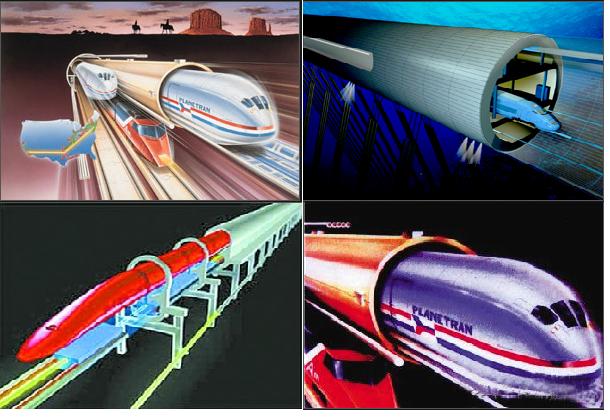 中国要造时速400公里真空管道列车?专家称2017年建成试验线