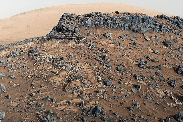好奇号火星车发现火星上存在矿产资源