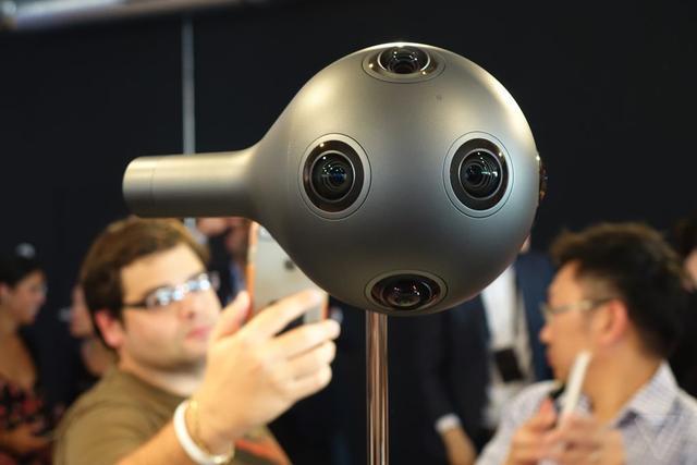 VR相机争夺战 诺基亚OZO叫板JauntOne