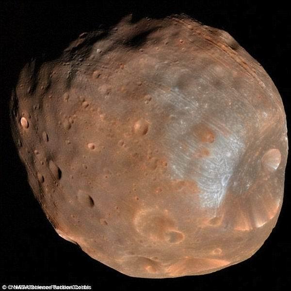伴随卫星逐渐分解火星未来将形成环状结构