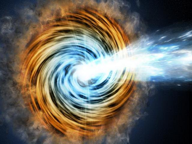 相距76亿光年神秘耀类星体释放高能伽马射线