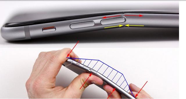 苹果iPhone 6 Plus为啥会弯?