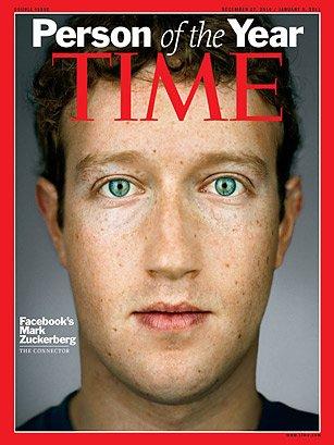 扎克伯格入选《时代》2011年最具影响力人物