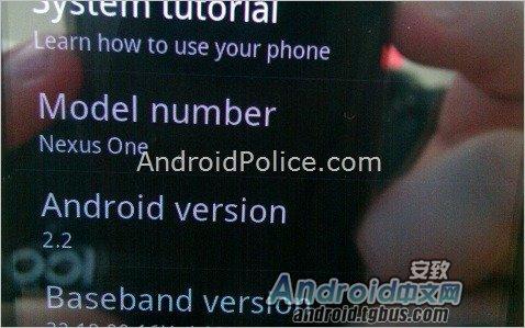 Andorid 2.2运行截图曝光 尚无Flash 10.1
