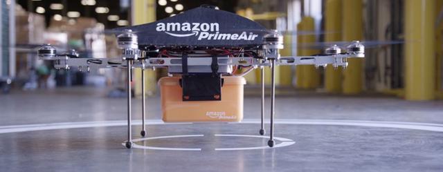 """亚马逊无人机快递被批""""疯狂至极"""""""