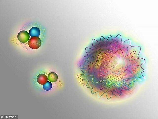 """科学家在特殊实验中发现神秘""""胶球""""微粒"""