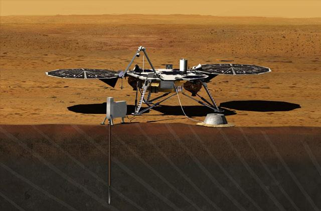 NASA发福利:2016年让你名字与洞察号一起上火星