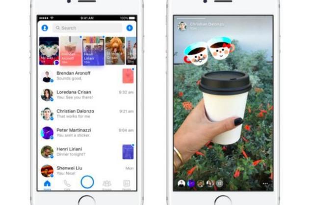 FB抄袭Snapchat第三弹: 阅后即焚版Messenger上线