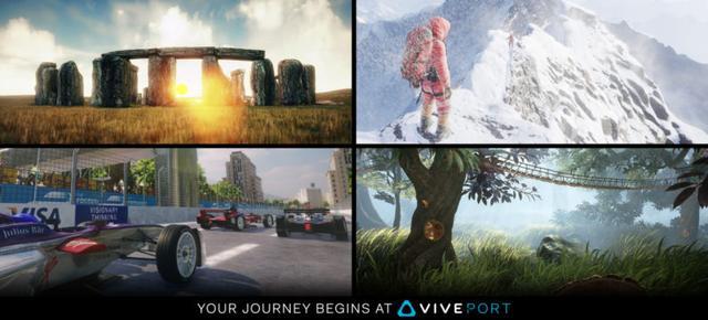 HTC在VR领域够拼的,推出了专门的VR应用商店Viveport
