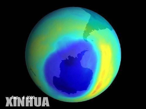 世界气象组织发布2011《南极臭氧空洞报告》